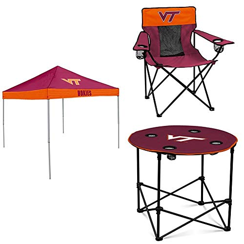 VA Tech Tent, Table and Chair Package