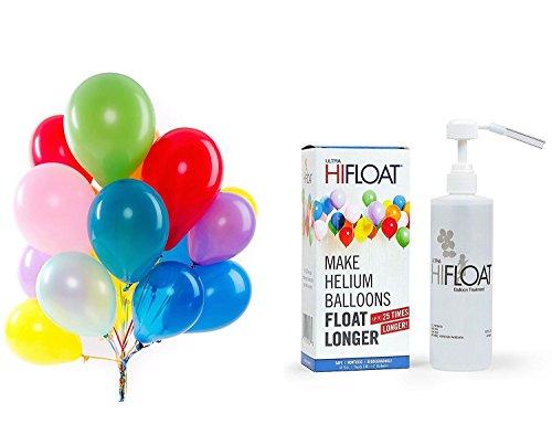 Hi-Float Balloon Treatment 16 oz and 144 Pcs