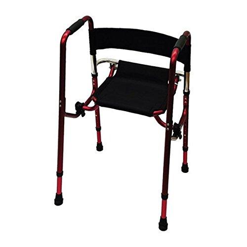 座れる歩行器 Rec01(レックゼロワン) レッド B07DDJBNDZ