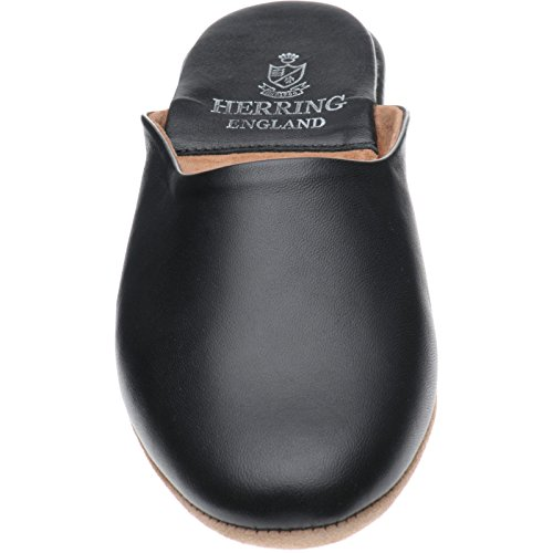 Herring baronet, Chaussons Pour Homme Bleu Black Calf