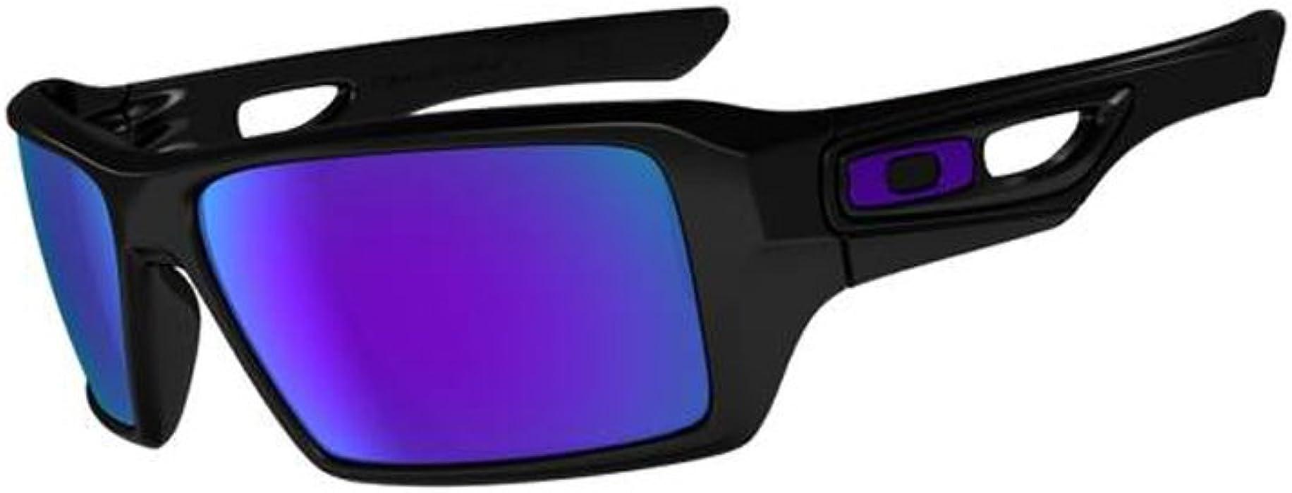 b61132c386 Oakley Sonnenbrille Eyepatch 2 Polished Black Violet Iridium oo9136 ...