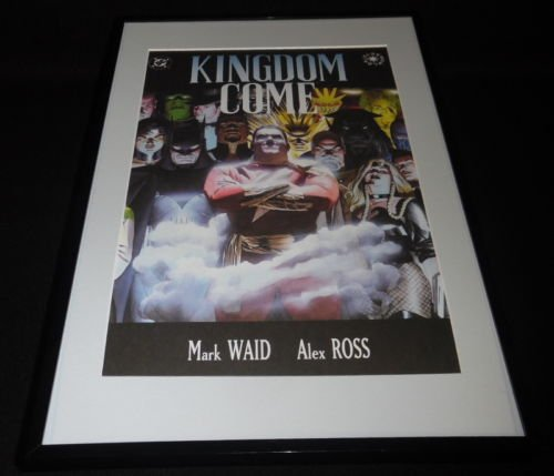 DC Kingdom Come #3 Framed 11x17 Cover Photo Poster Display Official Repro