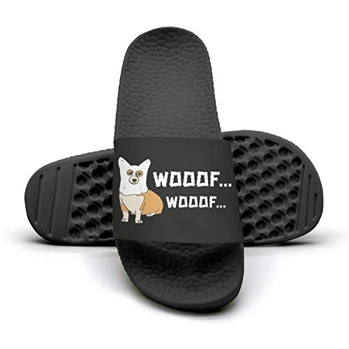 Butt Corgi Slippers Summer Woman Dog booty Ghost for Corgi Sandals 2 Mules doe Dog Slides dat lady 1B4w4Ex