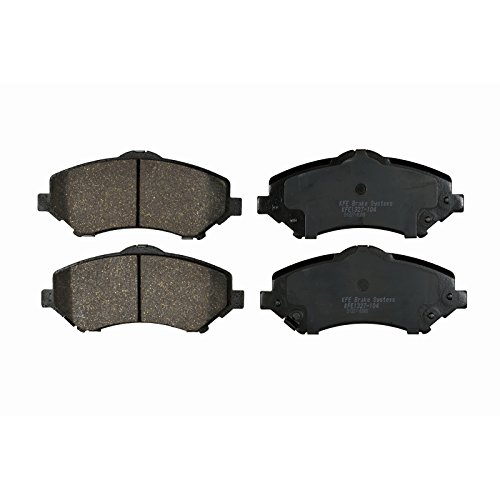 KFE Ultra Quiet Advanced KFE1327-104 Premium Ceramic FRONT Brake Pad (Jeep Liberty Brake Pads)