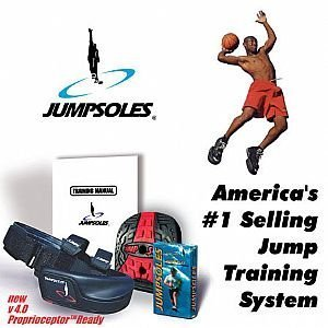 The New JumpSoles Speed and Jump Training System v 5.0 Size: Adult Large