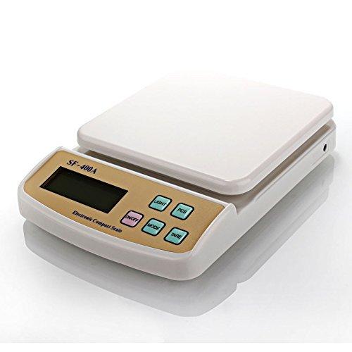 Atom Digital báscula de cocina funciona con batería y electricidad 6 en: Amazon.es: Hogar