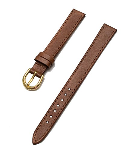 Timex Women's TX2268 Soft Textured Brown 11mm Brown Replacement Watchband