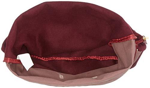portés H W x 7 Rot Herzallerliebst cm Beerenrot D Adelheid femme Rucksacktasche 5x44 5x40 Sacs dos 4twn6UA