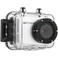 Emerson EVC555SL EVC555 HD Action Camera (Silver)