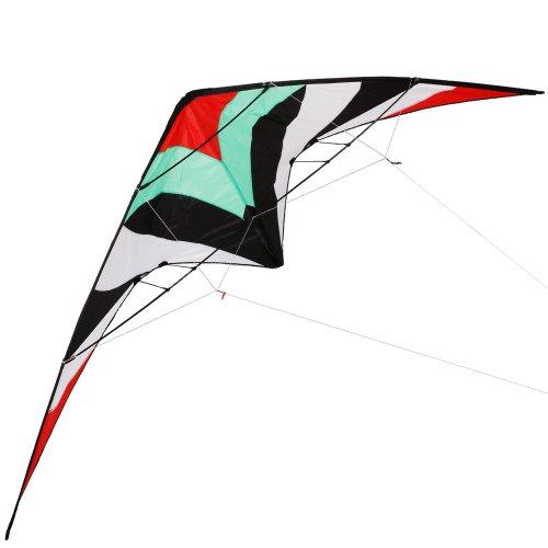 Jago Delta Lenkdrachen Delta Kite Sportlenkdrachen XXL 260 x 95 cm mit Tragetasche