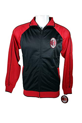 AC Milan Official License Soccer Track Jacket Football Merchandise Adult Size 002 Medium