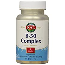 KAL B-50 Complex Tablets, 50 mg, 50 Count