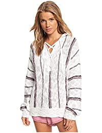 Women's Bay of Rainbows Poncho Beach Sweater