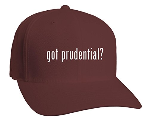 got-prudential-adult-baseball-hat-maroon-small-medium