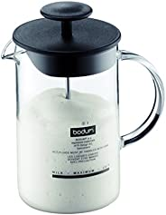Bodum Espumador de leite manual Latteo 1446-01US4, 227 g, preto