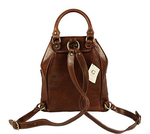 Neue Hand Tasche, Borsa a zainetto donna marrone brown