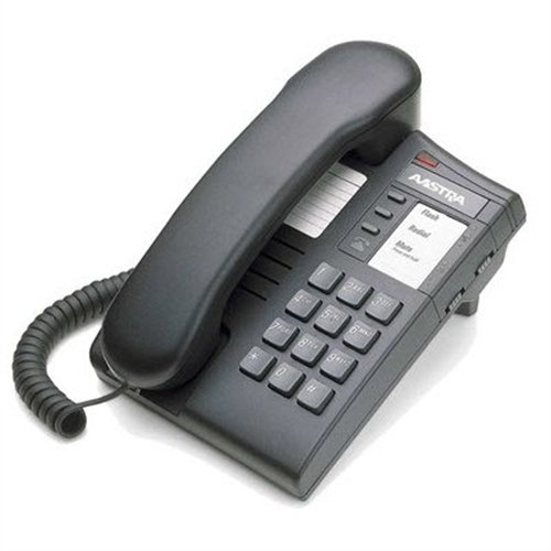 Mitel Networks Aastra 8004   Corded Phone   Charcoal A1219 0000 1000