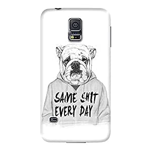DailyObjects Same Shit Every Day Case For Samsung Galaxy S5