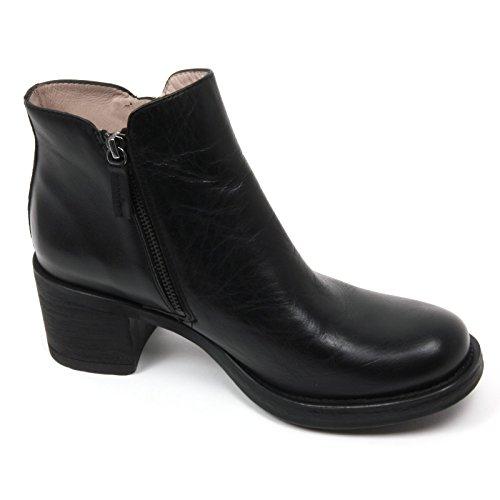 Donna C2234 Gable Tronchetto Shoe Nero Nero Woman HA UNISA Scarpa Boot qaEAnxZqdw