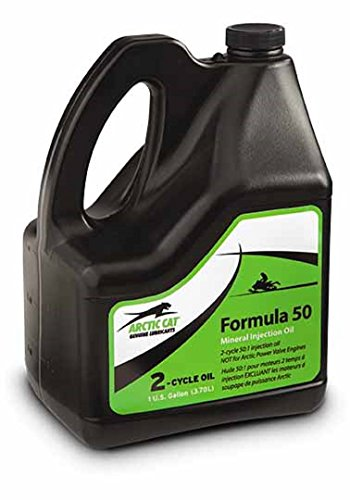 Arctic Cat New OEM Formula 50 Mineral 2-Cycle 50:1 Injection Oil (1) Gallon (Cycle Cat Oil Arctic 2)