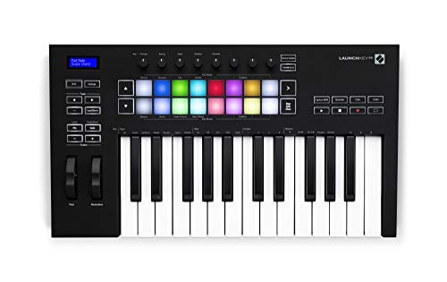 Novation Launchkey 25 [MK3] MIDI Keyboard Controller for Ableton Live