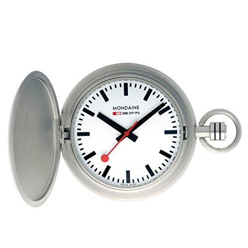 Mondaine Men's A660.30349.16SBB Savonnette II Steel Band Watch