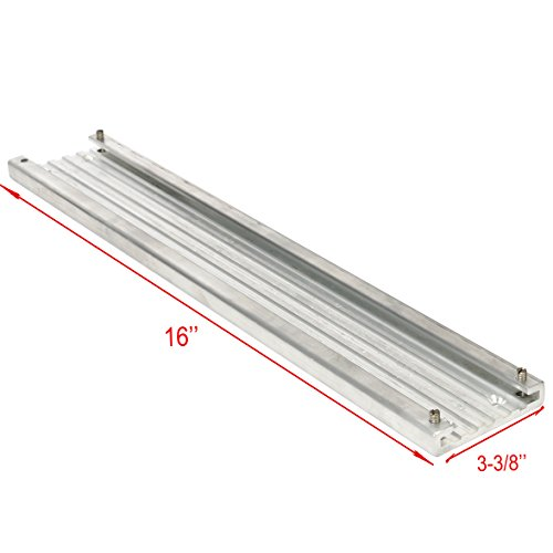 Cannon Aluminum Mounting Track (Amarine-made Aluminum mounting hardware included:Mounting track is 3-3/8