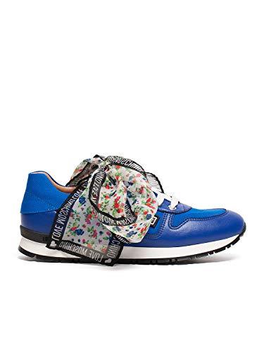 Moschino Blu Love Sneakers 8hdwvqdp Donna F8qFx4CYw