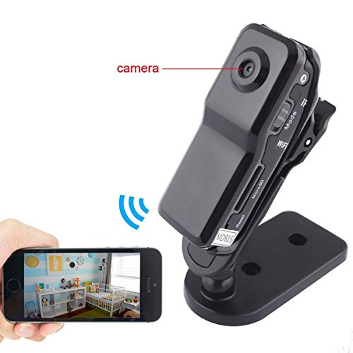 8GB WIFI Hidden Camera Nanny CAM 1280×960 Video Shooting Motion Detection Support Real-time View for Security - Reflecting For Pictures Apps