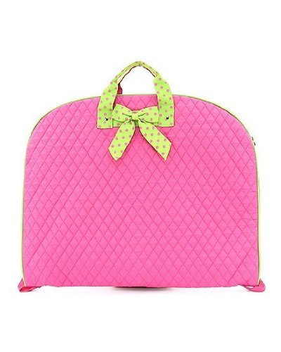 belvah quilted solid garment bag - 2