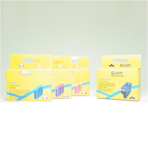 14 Pack Compatible Canon BJI-201 High Capacity Ink Cartridges (5BK, 3C, 3M, 3Y) BJI-201BK BJI-201C BJI-201M BJI-201Y