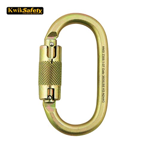 KwikSafety Steel and Aluminum Carabiners
