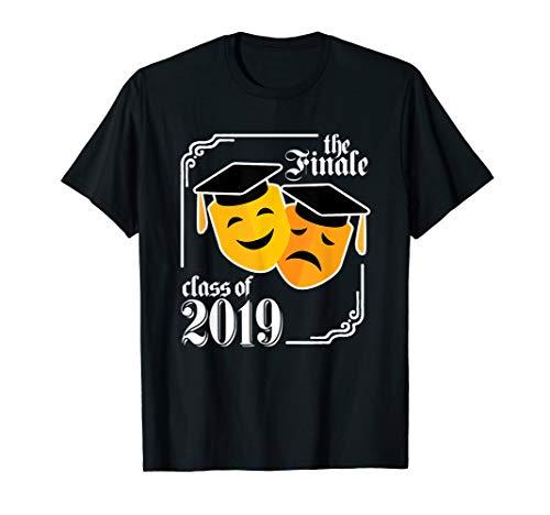Funny 2019 Graduation Shirt Theater Drama Tshirt Gift Senior