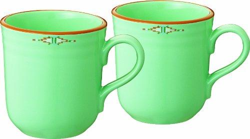Boulder Ridge mugs pair  (japan import) - Noritake P97488/8674
