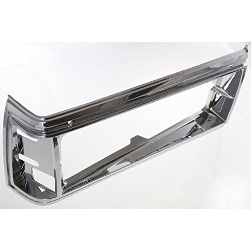 Diften 630-A0051-X01 - Head Lamp Door Set of 2 Chevy Caprice 81-85 Headlight Housing Left & Right Pair (2 Door Caprice Chevy)