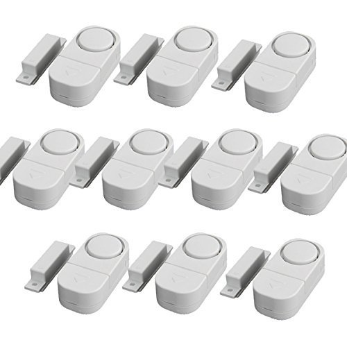 (10 Pcs)Door and window anti - theft alarm anti - theft sensors alarm security security Menci windows anti - theft by geekfaststore