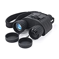 Bestguarder WG-80 4X50mm HD Digital Night Vision Binocular with 1.5 inch TFT LCD and Camera & Camcorder Function Takes 5mp Photo & 720p Video from 300m/980ft Distance