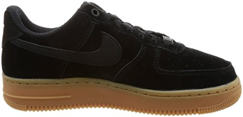 Brown Med '07 Da ivory 1 black Scarpe Se Air Donna gum Nike black Force Ginnastica Nero q6wHxpO4