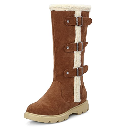 Eclimb Womens Brown Snow Boots US 6.5 Uh2wy0o
