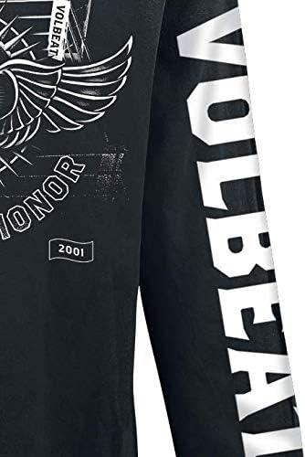 Volbeat Fight for Honor Langarmshirt schwarz