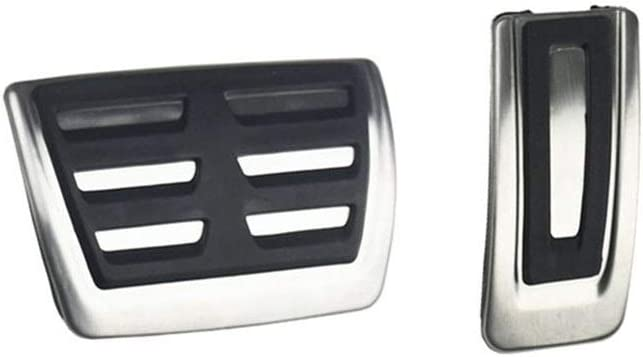 ZXC Pedal de Acero Inoxidable Cubierta for los Seat Ibiza Tarraco EL Born-Leon Arona Ateca Tarraco 2016 2017 2018 2019 2020 Color Name : White