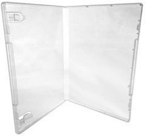 200 Clear CheckOutStore Plastic Storage Cases for Rubber Stamps