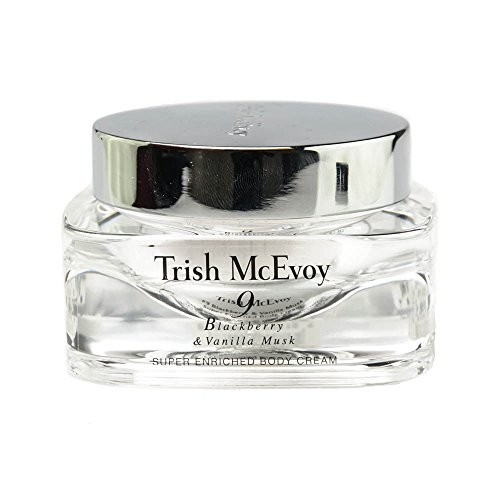 - Trish McEvoy 9 Blackberry & Vanila Musk Super Enriched Body Cream 3.5oz (100g)
