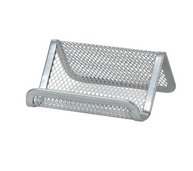 officemax-mesh-business-card-holder-silver