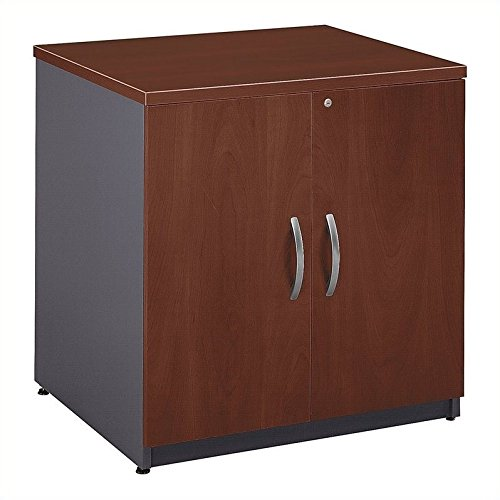 Bush Business Series C 30W Storage Cabinet in Hansen Cherry