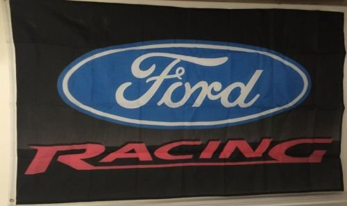 AutoAdvertising FORD RACING FLAG BANNER 3X5