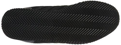 K-swiss Mujeres New Haven Snake Cmf-w Moda Sneaker Negro / Blanco