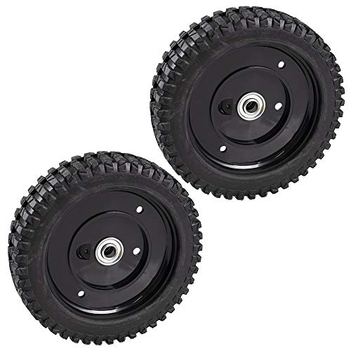 MTD 2 Genuine OEM Drive Wheel 8 x 2.125 Pro Cub Cadet Craftsman Walk Behind Mowers 734-04226A