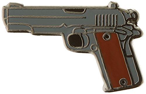 EagleEmblems P00597 Pin-Gun,45CAL Pistol,Milt (1'') (Best 45 Cal Pistol)