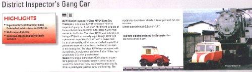2011 Qtr.2 District Inspector's class KLV 04 Gang Car (L) (HO Scale) -  Marklin, 46775